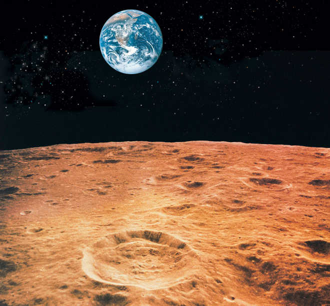 Asteroids are Moon's main 'water supply'
