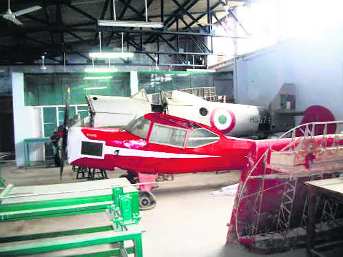 Vintage flying machines to spit fire again