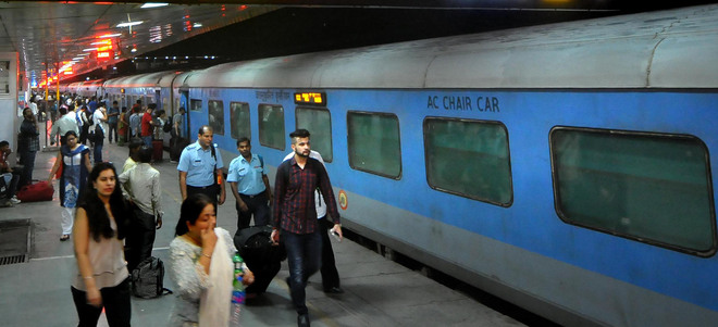 beginning today shatabdi to have additional ac chair car