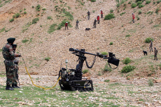 Army warfare training in state takes a hit