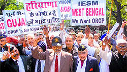 One rank, one pension: Ex-servicemen plan nationwide agitation