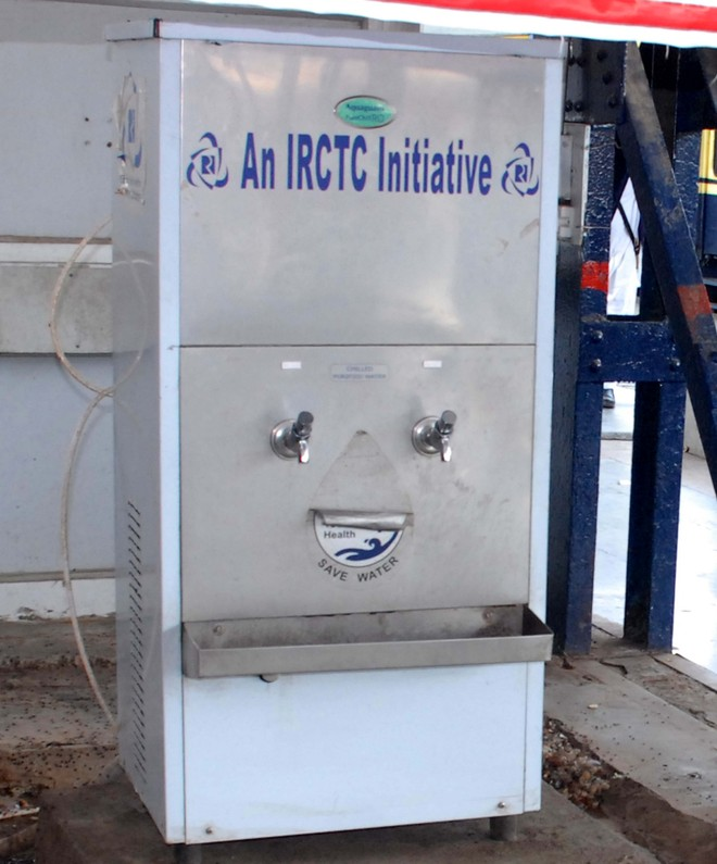 Image result for Water Coolers at Railway Stations