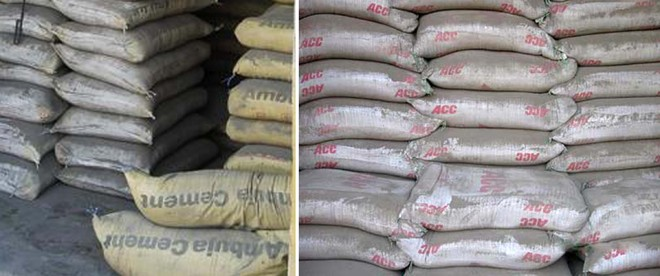 Ultratech Cement Bag Types : Cement costs per cent more in state survey