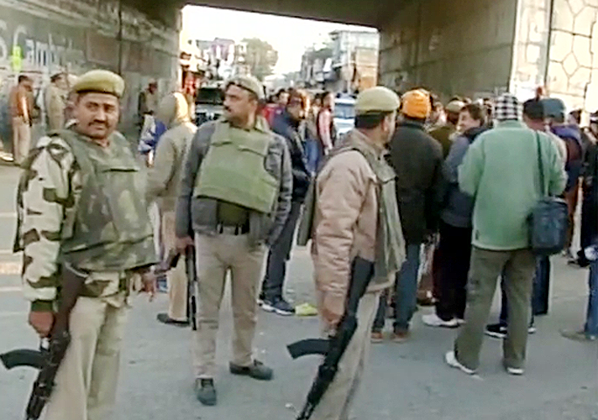 FOUR TERRORISTS KILLED IN ATTACK AT PATHANKOT AIRBASE