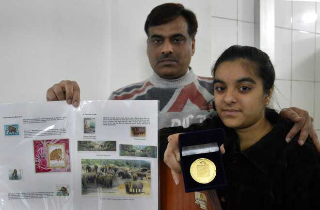 Young philatelist from city bags bronze at Asian exhibition