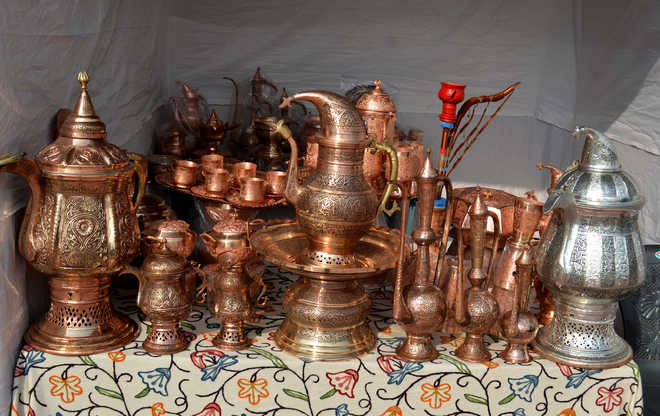 copper & silver ware handicrafts-Aih