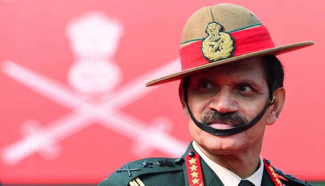 Army chief to review situation in J&K, Punjab, Haryana