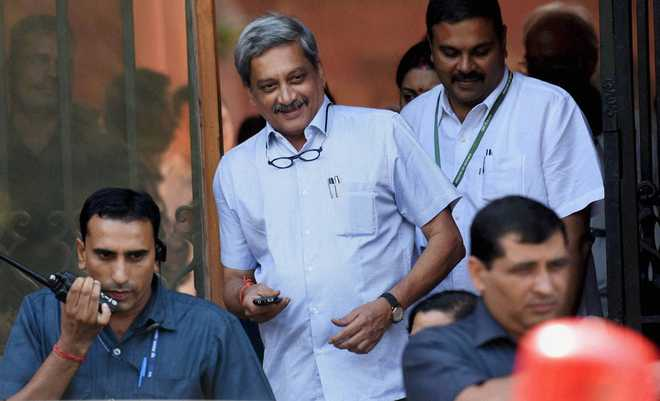 Parrikar sends disability pension issue to anomalies committee