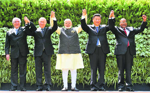 More than mere  BRICS in the wall