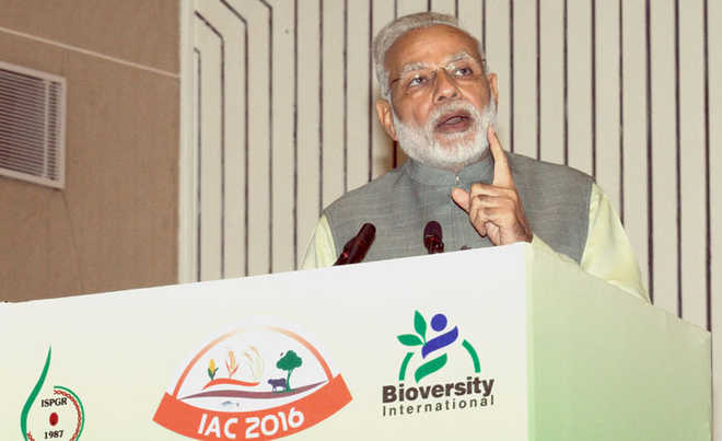 PM stresses on conservation of agro-biodiversity