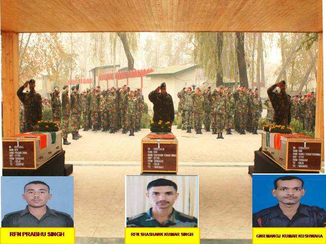 Army pays tributes to the braveheart