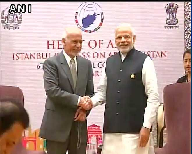 Heart of Asia: PM holds talks with Afghanistan President