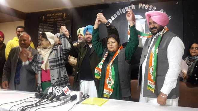 Several SAD, AAP and BJP leaders join Congress