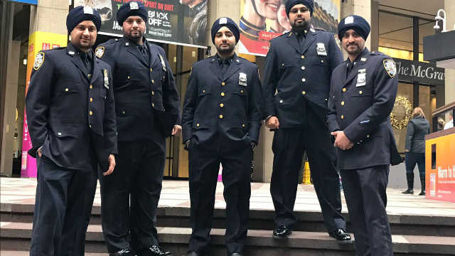NY Police Dept to allow Sikh officers to wear turban