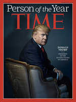 Donald Trump is Time magazine's Person of the Year