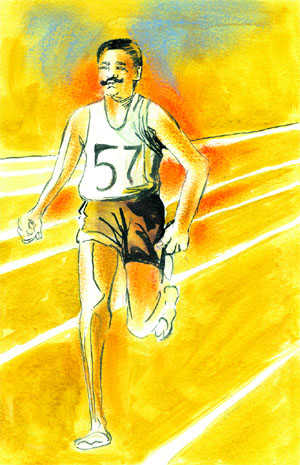 A free soul who conquered his sport