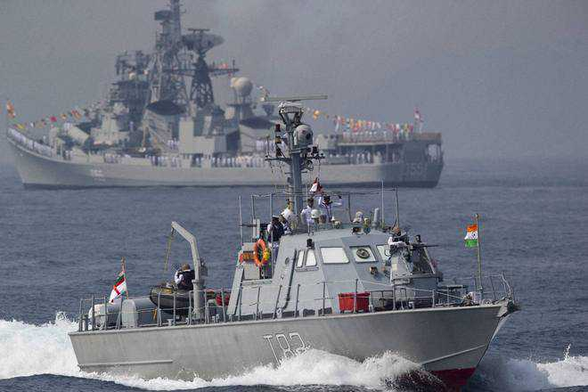 50 nations on Indian shores for fleet review