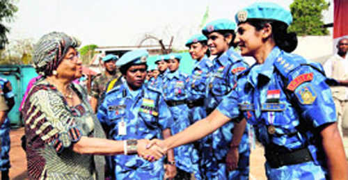 All-woman Indian peacekeeping unit an inspiration: UN chief
