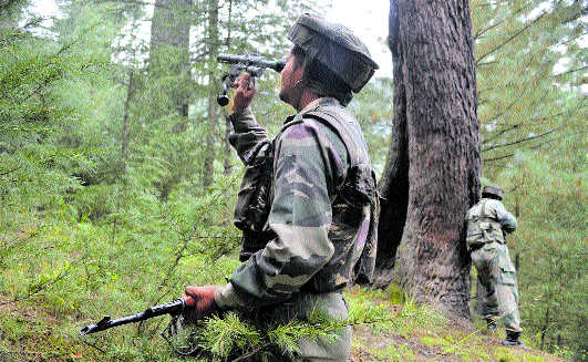 350-km LoC in Kashmir valley has 40-50 infiltration routes