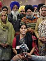 39 Indians taken hostage by ISIS in Mosul are alive: Swaraj