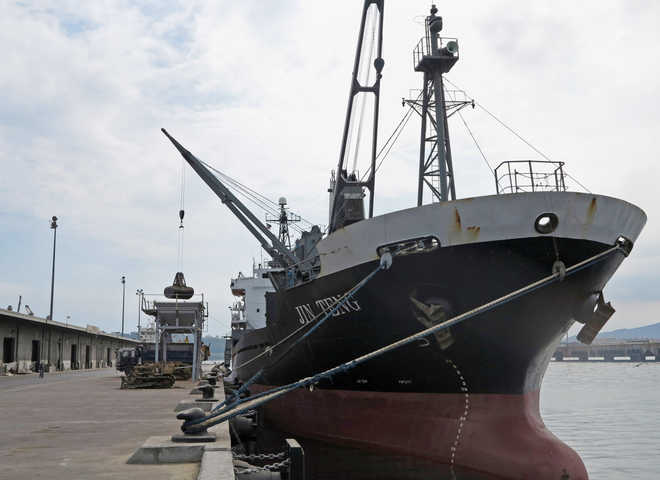 Philippines impounds N Korean ship under UN sanctions