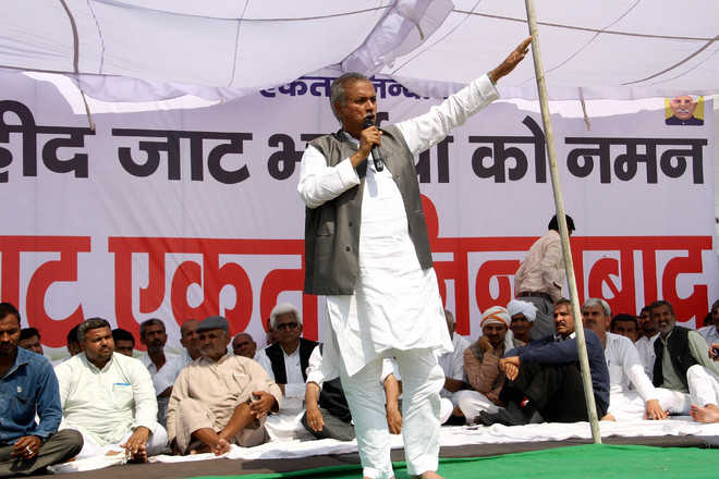 Withdraw cases or face stir from March 14: Jats