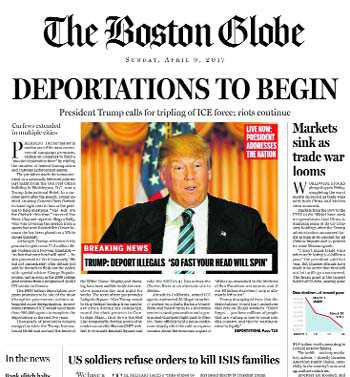 the history of the boston globe an american daily newspaper In 1958, the paper relocated to the new boston globe building at 135 morrissey blvd in dorchester, making it the last paper to leave newspaper row the new plant opened on may 11.