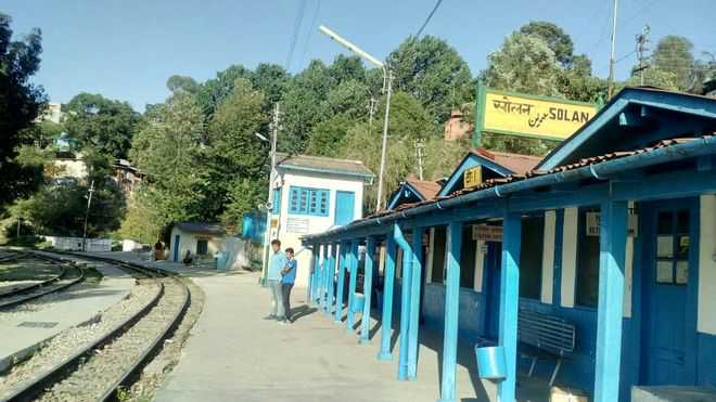 Solar lighting for 17 railway stations on Kalka-Shimla link