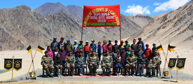 Ladakh students join Army schools