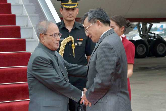 Pranab in China, likely to raise NSG membership issue
