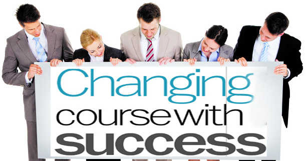 Changing course with success