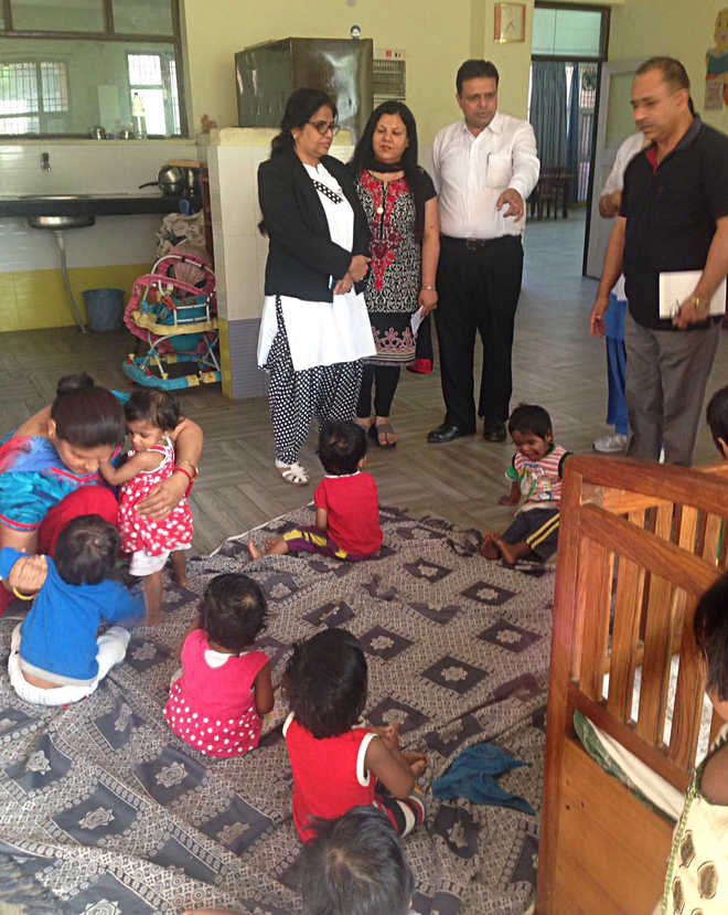 Judges pay surprise visit to orphanage, find two inmates ill