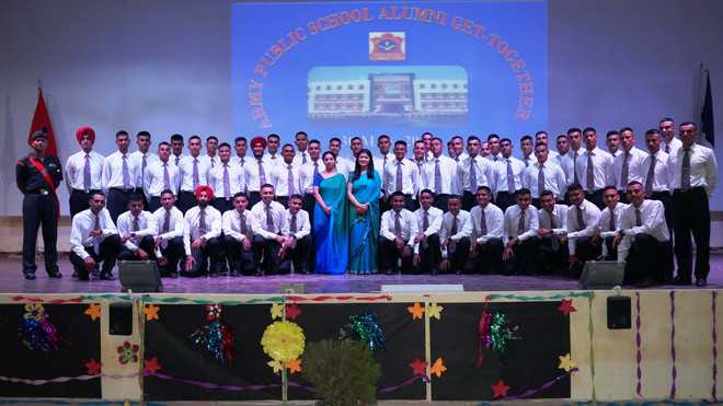 Army Public School holds alumni meet