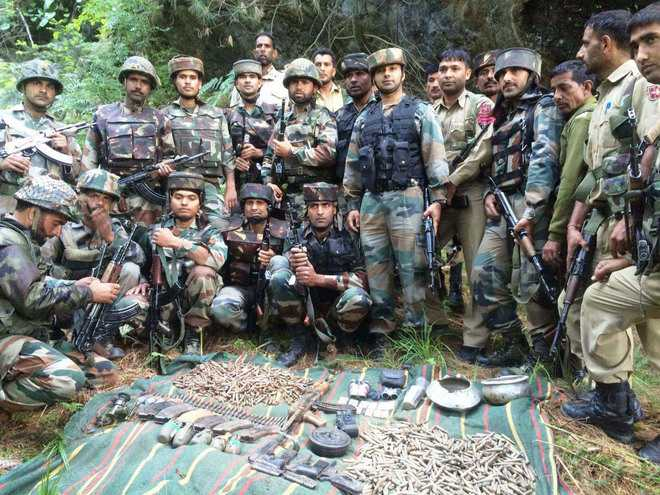 Army busts militant hideout in Doda, arms and ammunition recovered