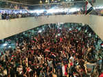 Sadr followers storm into Baghdad's 'Green Zone'