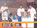 Sarbananda Sonowal takes oath as Assam's first BJP CM