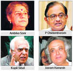 PC, Sibal, Jairam Cong's RS nominees