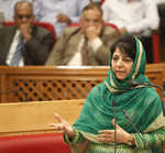 Mehbooba takes on separatists over stone-throwing Fridays