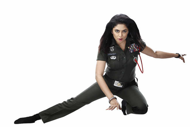 Fitness from ground zero :    Kavita Kaushik, Actress