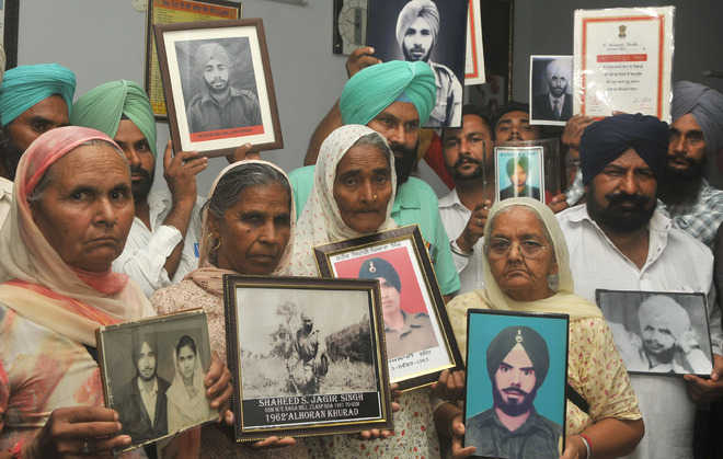 War widows in Mohali accuse govt of neglect