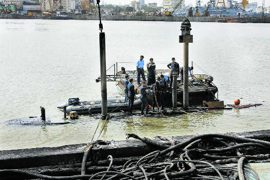 Naval safety in choppy waters