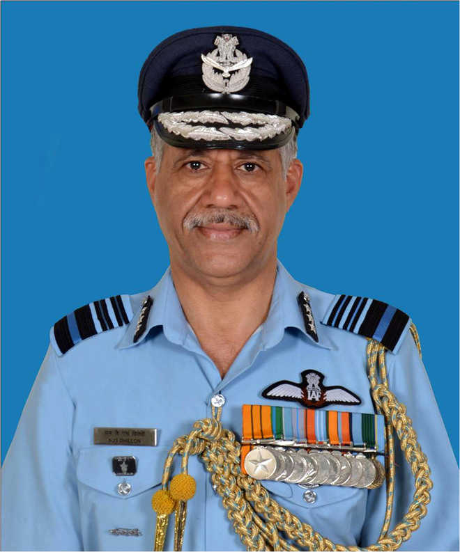 Dhillon promoted as Air Marshal