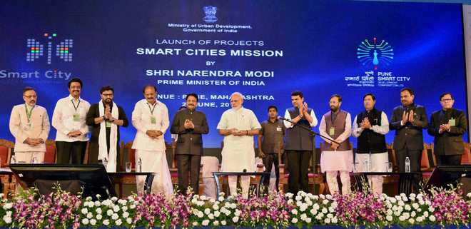 PM launches Smart City projects in Pune