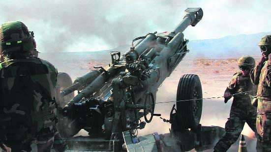 Deal cleared for 145 artillery guns
