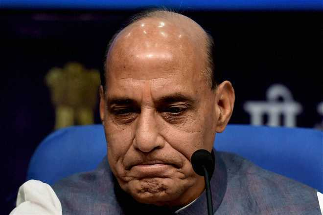 Neighbouring country trying to destabilise India: Rajnath