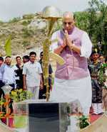 Naxalism will be rooted out soon: Rajnath