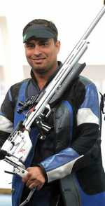 Rajput wins silver in World Cup