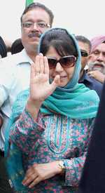 Mehbooba takes oath as member of J&K Assembly