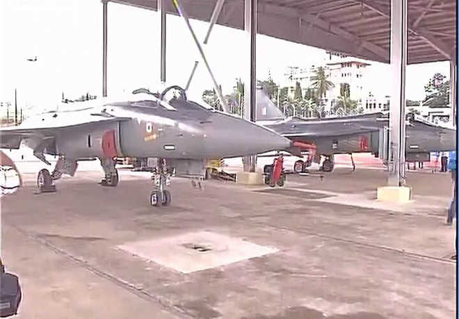 IAF inducts first squadron of home-grown Tejas