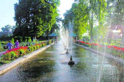 Kashmir keeps alive its fascination with water